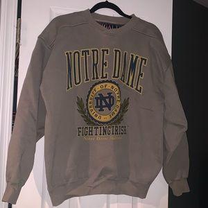 Notre Dame Crew Neck